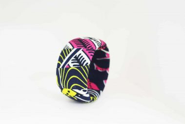 pink and yellow bangle