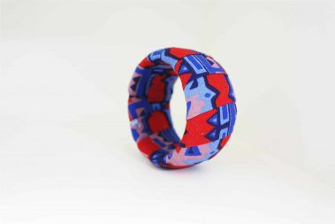 red blue bangle