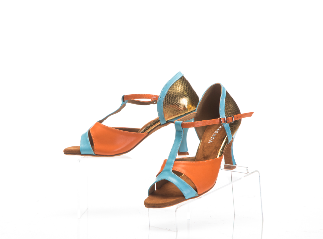 Aruba orange dance shoes