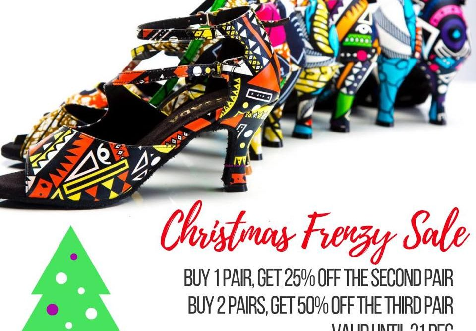 Christmas sale dance shoes